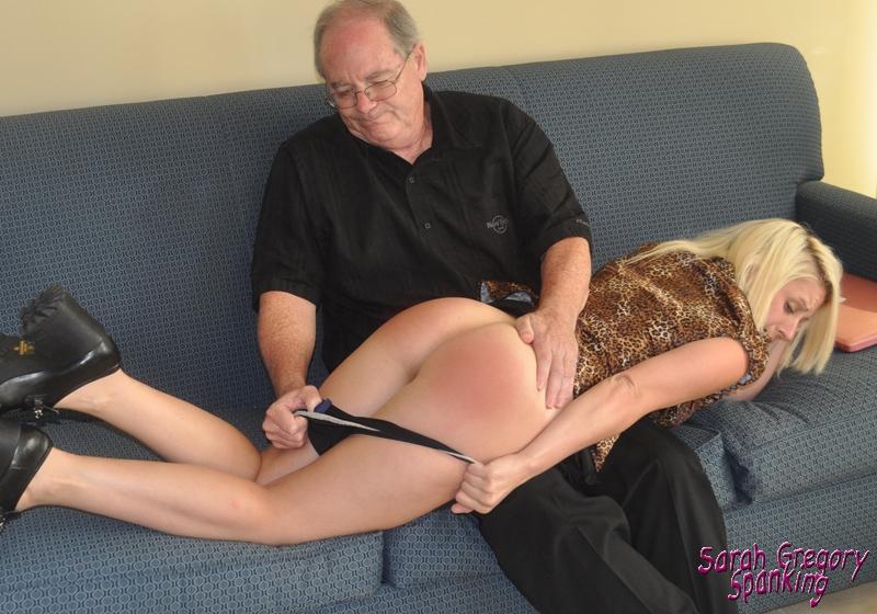 panties down spanking