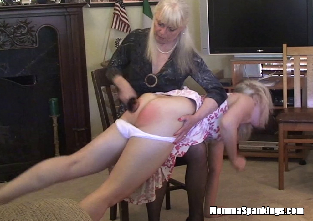 Spanking pictures hairbrush