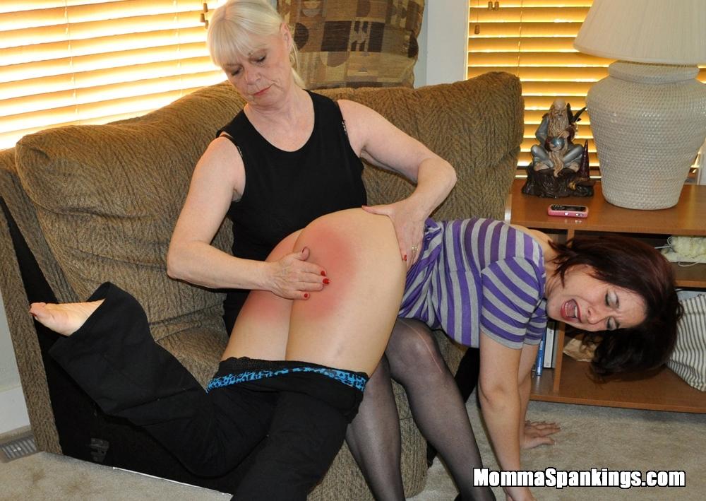 Rude men being spanked naughty