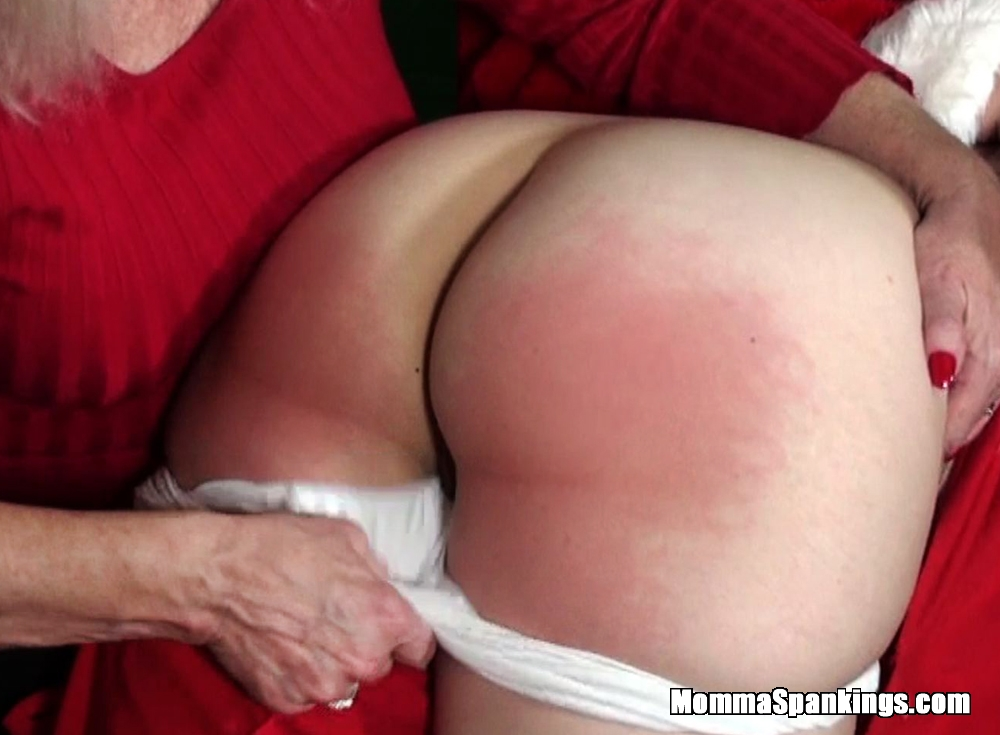 If she misbehaves we spank her