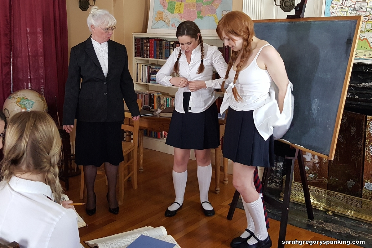 Spanking in front of the class