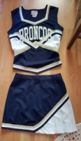 Broncos Cheerleading Uniform